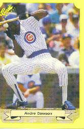 1987 Classic Update Yellow #124 Andre Dawson