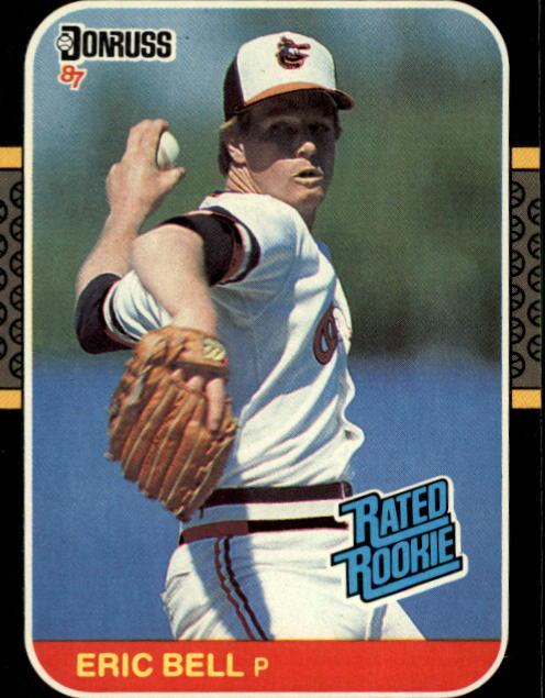 1987 Donruss #39 Eric Bell RC