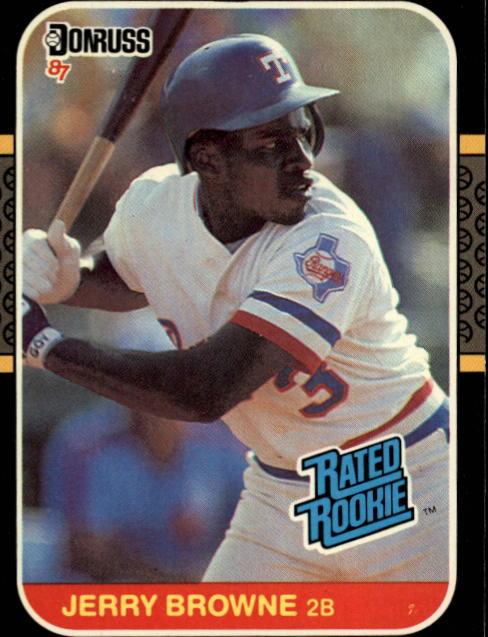1987 Donruss #41 Jerry Browne RC