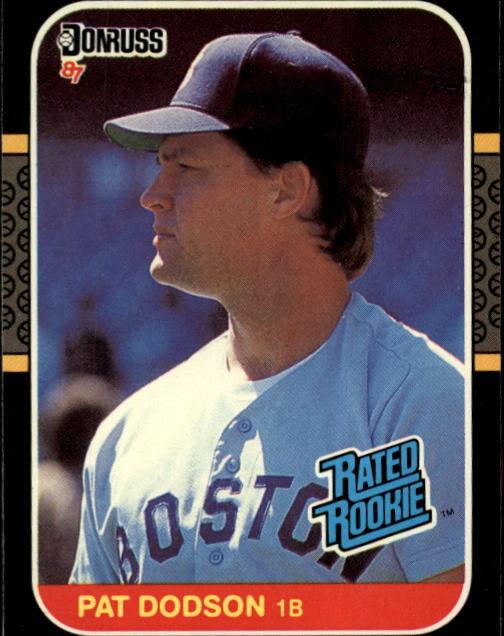 1987 Donruss #44 Pat Dodson RC