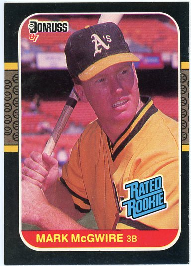 1987 Donruss #46 Mark McGwire