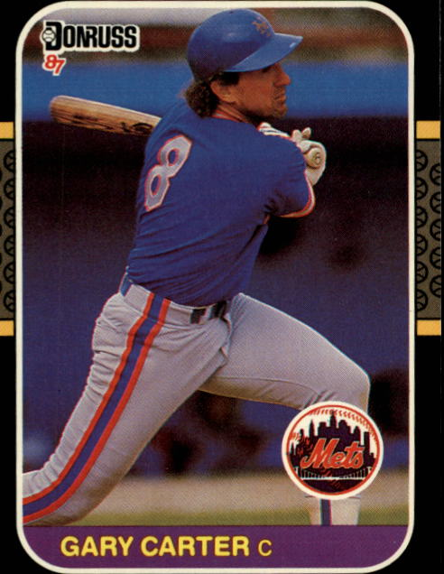1987 Donruss #69 Gary Carter