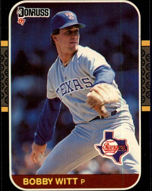 1987 Donruss #99 Bobby Witt RC