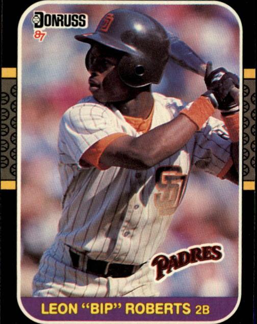 1987 Donruss #114 Bip Roberts RC