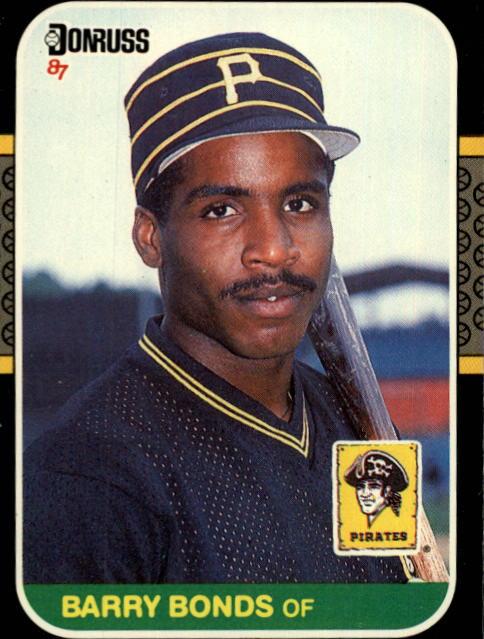 1987 Donruss #361 Barry Bonds RC