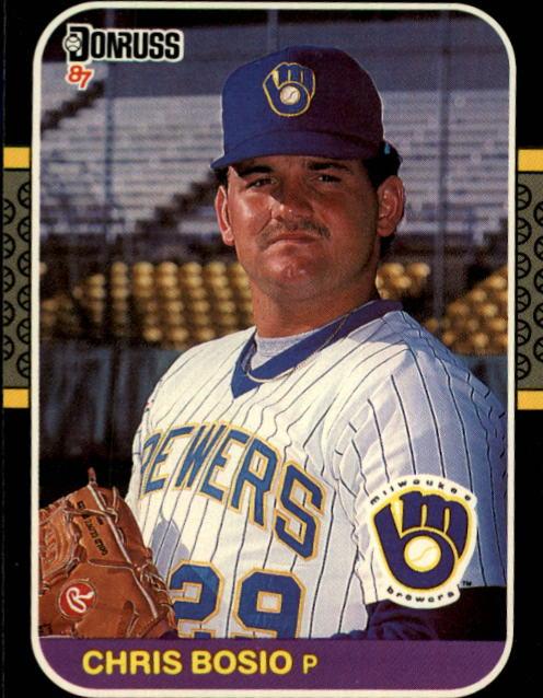 1987 Donruss #478 Chris Bosio RC