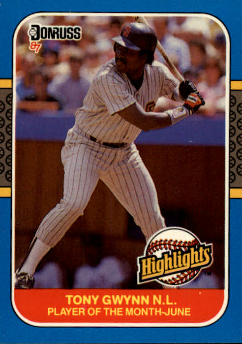 1987 Donruss Highlights #12 Tony Gwynn