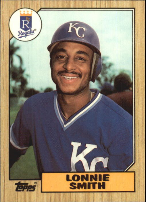 1987 Topps Tiffany #69 Lonnie Smith