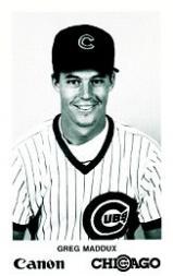 1988 Cubs Canon #14 Greg Maddux
