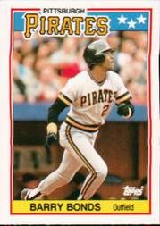 1988 Topps UK Minis #5 Barry Bonds
