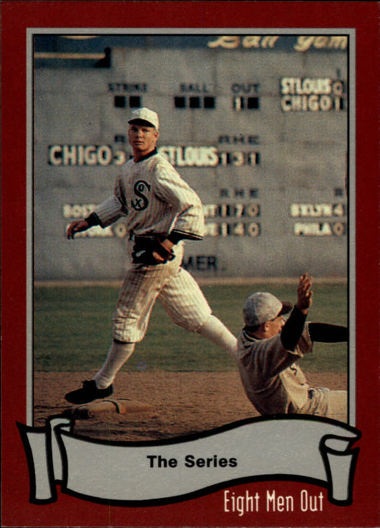 1988 Pacific Eight Men Out #3 The Series