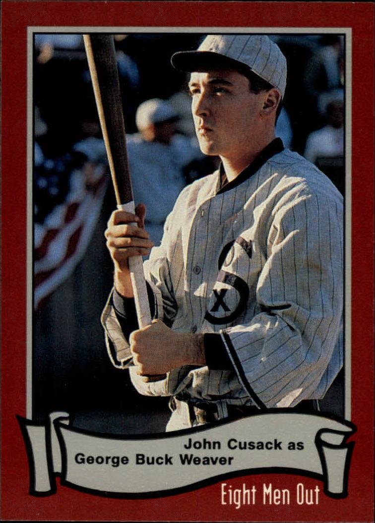 1988 Pacific Eight Men Out #12 John Cusack as/Buck Weaver