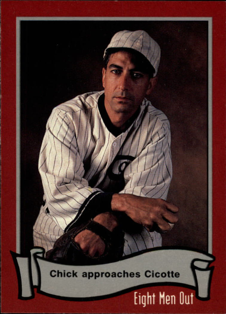 1988 Pacific Eight Men Out #22 Chick Approaches/Cicotte