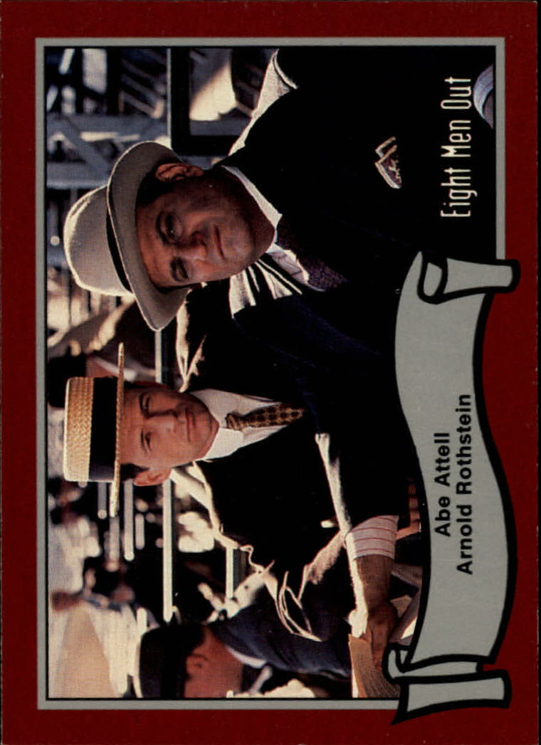 1988 Pacific Eight Men Out #28 Abe Attell And/Arnold Rothstein