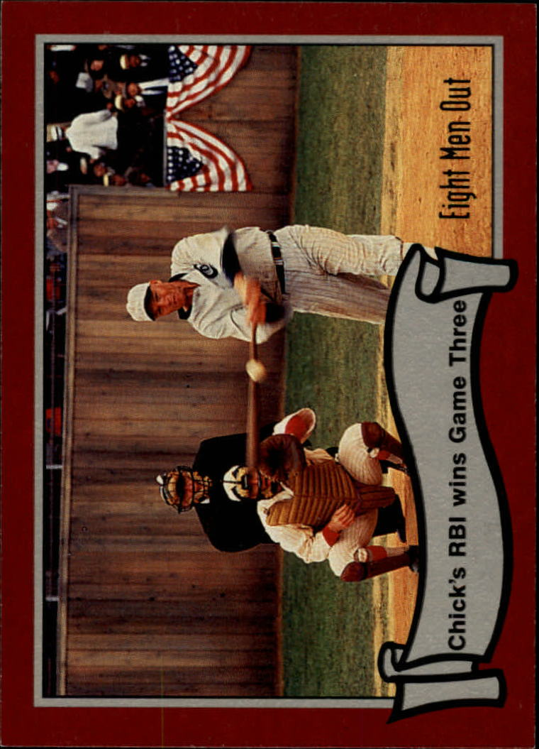 1988 Pacific Eight Men Out #46 Chick's RBI Wins/Game Three