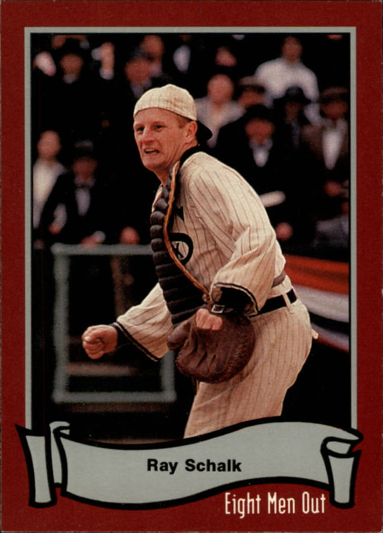 1988 Pacific Eight Men Out #50 Ray Schalk