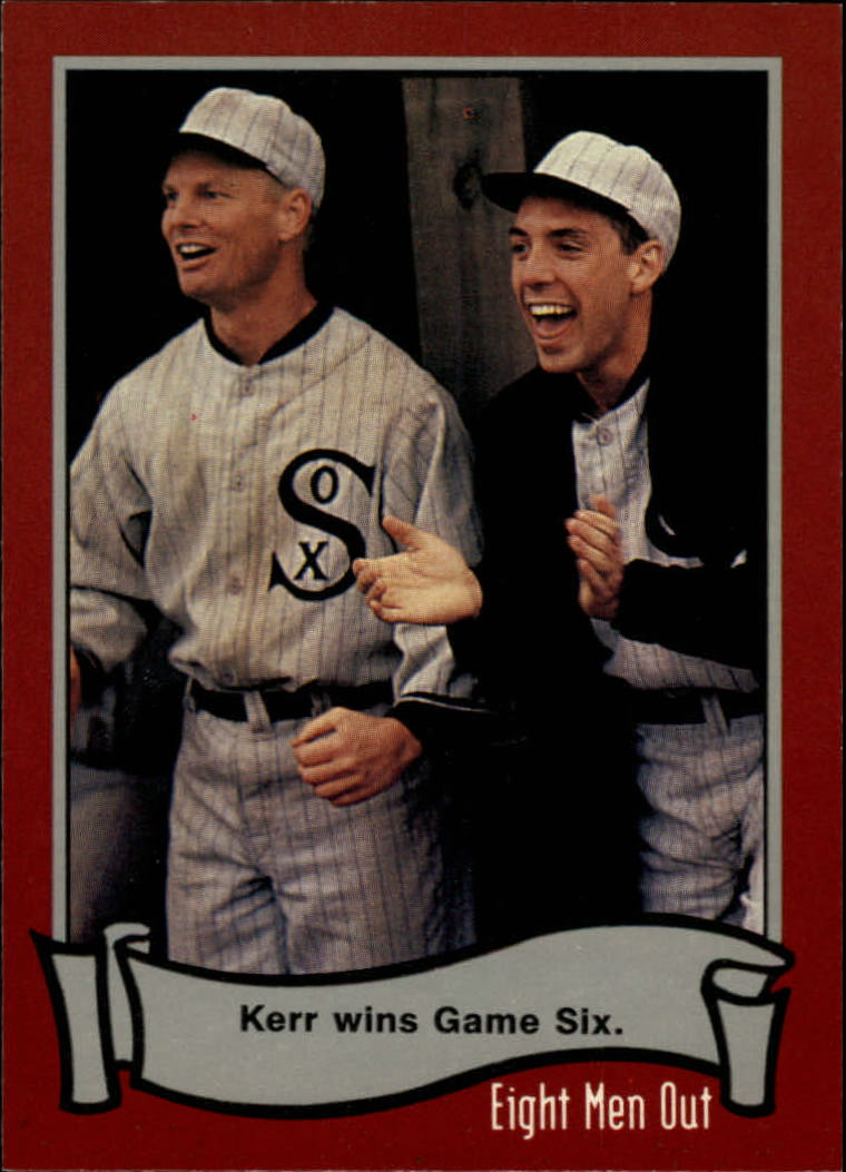 1988 Pacific Eight Men Out #56 Kerr Wins Game Six