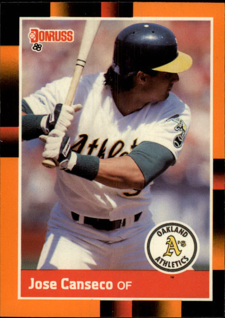 1988 Donruss Baseball's Best #22 Jose Canseco