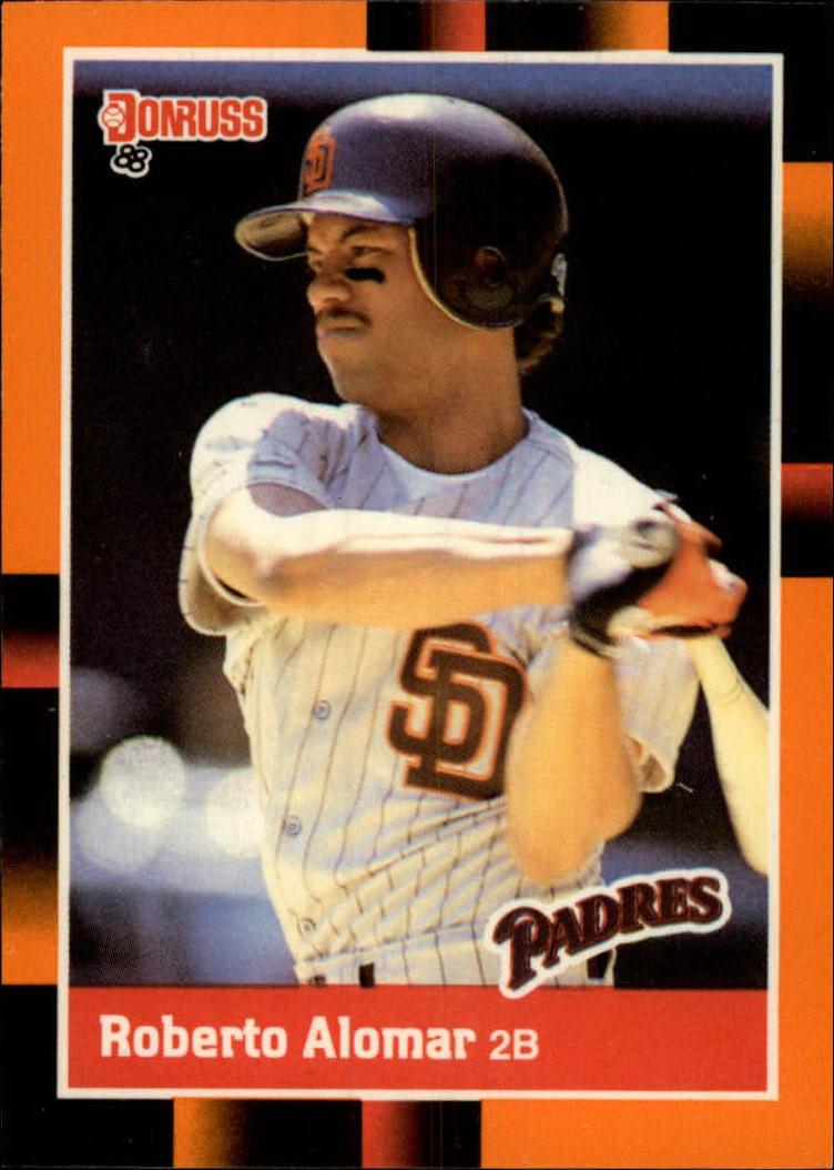 1988 Donruss Baseball's Best #42 Roberto Alomar