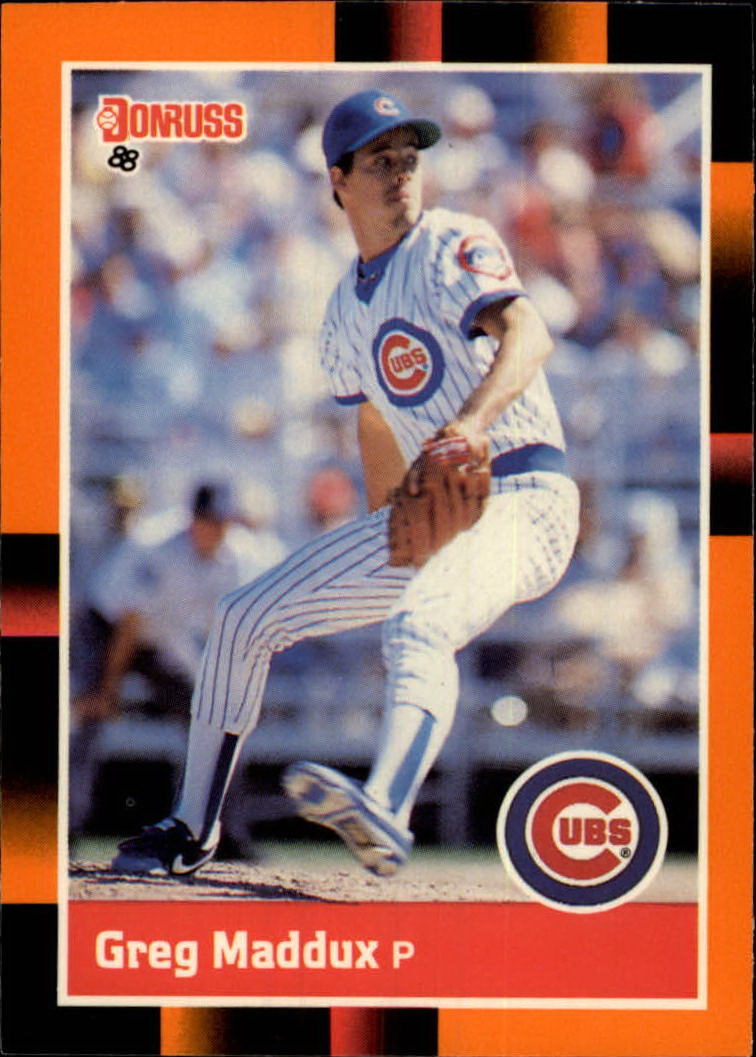 1988 Donruss Baseball's Best #82 Greg Maddux