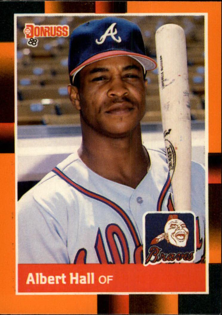 1988 Donruss Baseball's Best #253 Albert Hall
