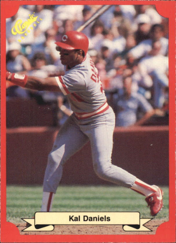 1988 Classic Red #161 Kal Daniels