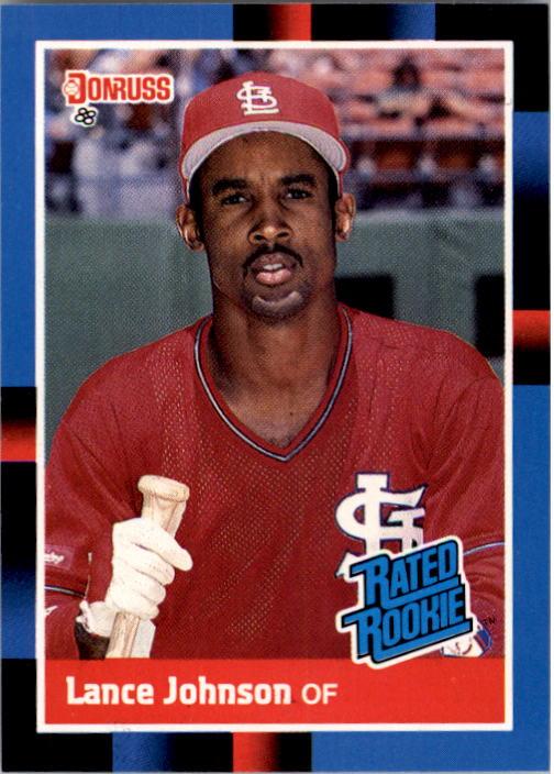 1988 Donruss #31 Lance Johnson RC