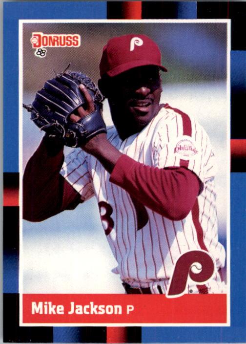 1988 Donruss #139 Mike Jackson RC*