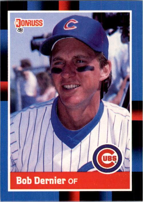 1988 Donruss #392 Bob Dernier