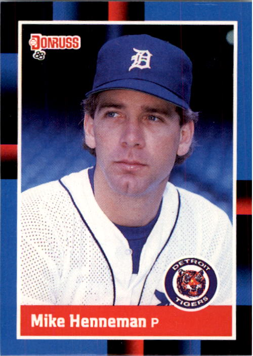 1988 Donruss #420 Mike Henneman RC*