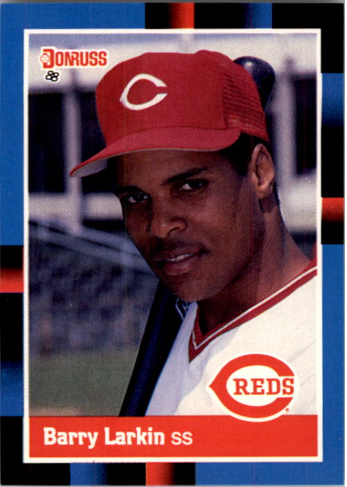 1988 Donruss #492 Barry Larkin