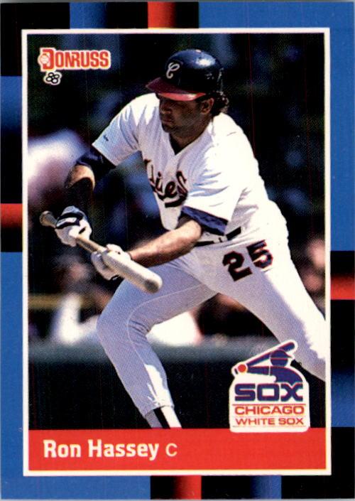 1988 Donruss #580 Ron Hassey