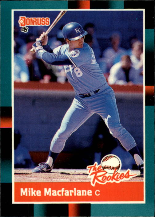 1988 Donruss Rookies #55 Mike Macfarlane XRC