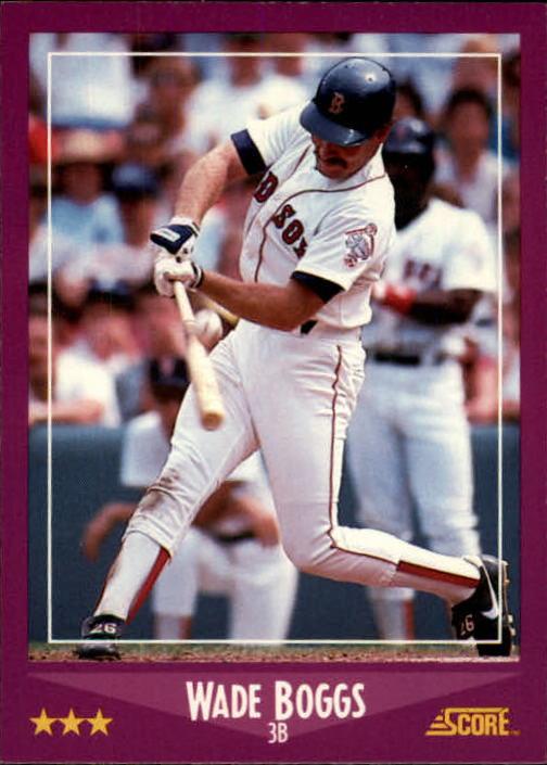 1988 Score #2 Wade Boggs