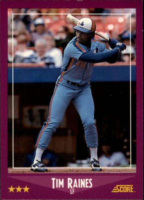 1988 Score #3 Tim Raines