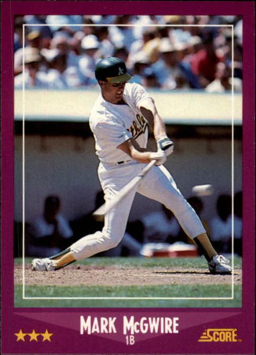 1988 Score #5 Mark McGwire