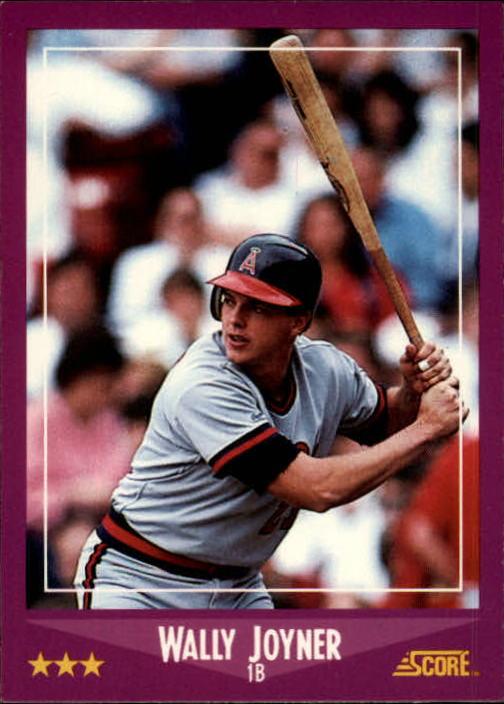 1988 Score #7 Wally Joyner