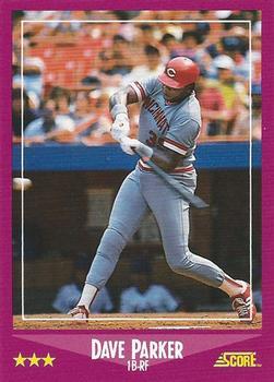 1988 Score #17 Dave Parker
