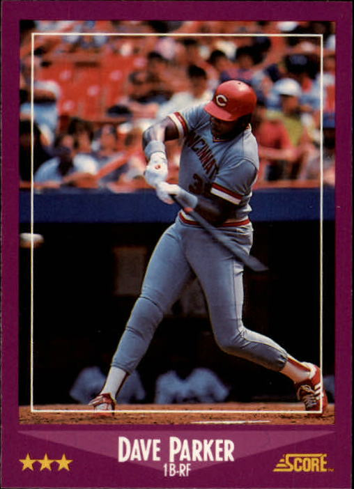 1988 Score #19 Andres Galarraga