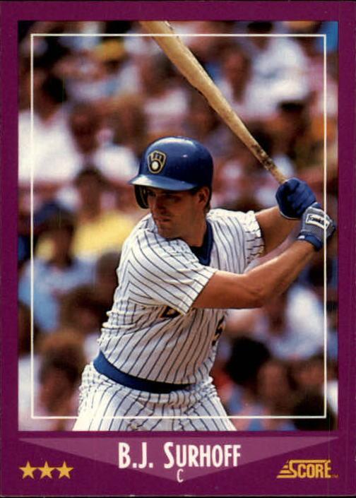1988 Score #22 B.J. Surhoff