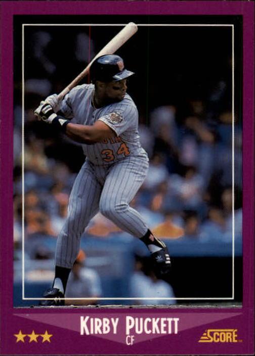 1988 Score #24 Kirby Puckett