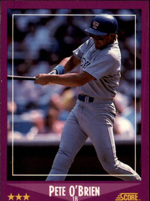 1988 Score #29 Pete O'Brien