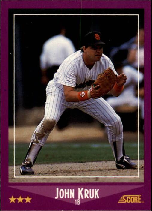 1988 Score #36 John Kruk