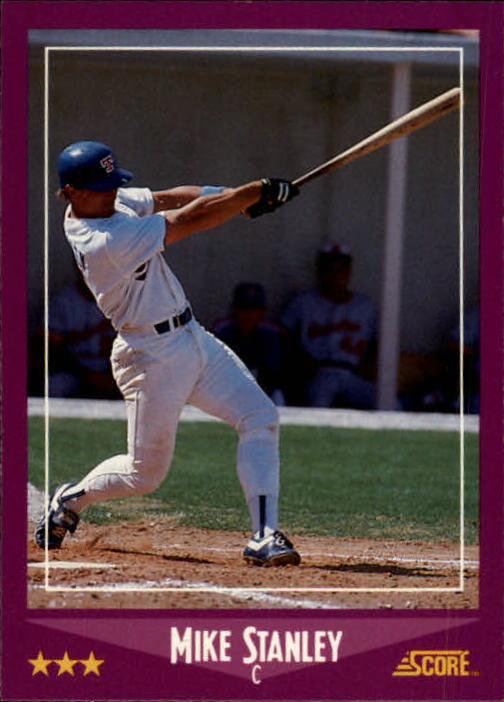 1988 Score #47 Mike Stanley