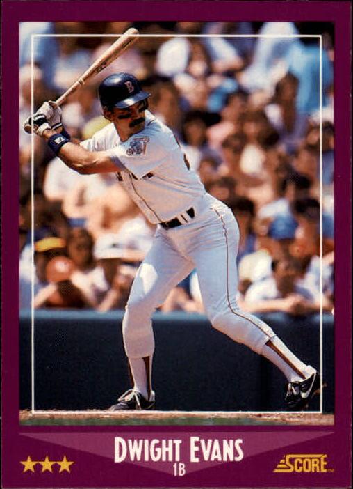 1988 Score #65 Dwight Evans