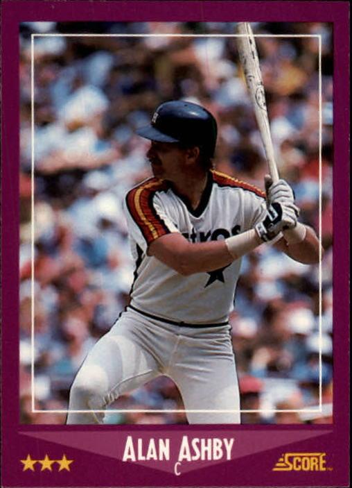 1988 Score #73 Alan Ashby