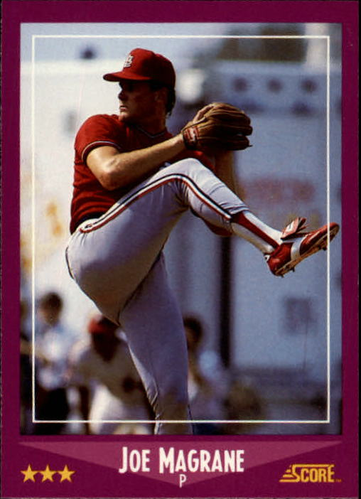 1988 Score #94 Joe Magrane RC