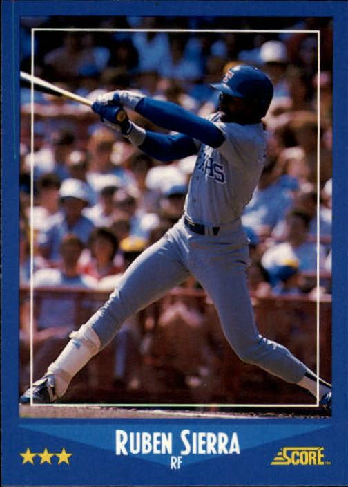 1988 Score #113 Ruben Sierra