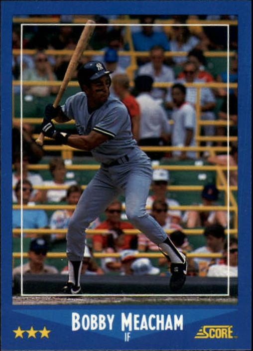 1988 Score #137 Bobby Meacham