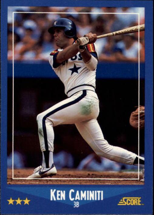 1988 Score #164 Ken Caminiti RC